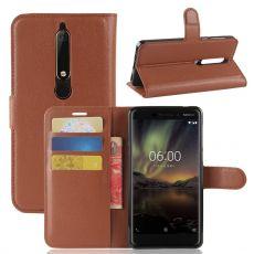 Luurinetti suojalaukku Nokia 6.1 brown