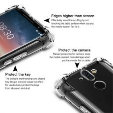 Imak läpinäkyvä Pro TPU-suoja Nokia 8 Sirocco