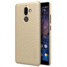 Nillkin Super Froster -kuori Nokia 7 Plus gold
