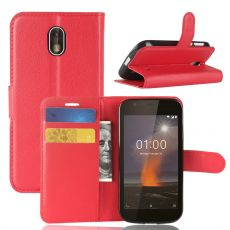 Luurinetti Flip Wallet Nokia 1 red