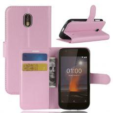 Luurinetti Flip Wallet Nokia 1 pink