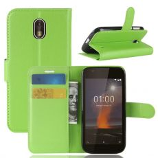 Luurinetti Flip Wallet Nokia 1 green