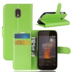 Luurinetti Flip Wallet Nokia 1 green