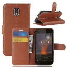 Luurinetti Flip Wallet Nokia 1 brown
