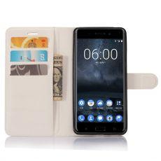Luurinetti Flip Wallet Nokia 6 white