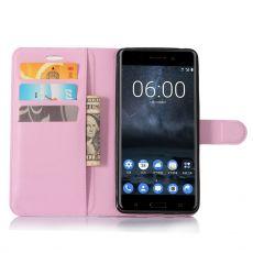 Luurinetti Flip Wallet Nokia 6 pink