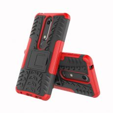 Luurinetti Nokia 6.1 suojakuori tuella red