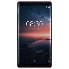 Nillkin Super Frosted Nokia 8 Sirocco red