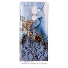 Luurinetti TPU-suoja Nokia 7 Plus Marble 12