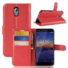Luurinetti Flip Wallet Nokia 3.1 red