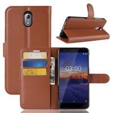 Luurinetti Flip Wallet Nokia 3.1 brown