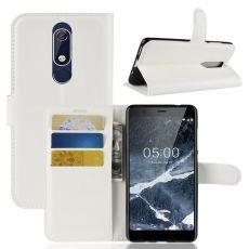 Luurinetti Flip Wallet Nokia 5.1 white