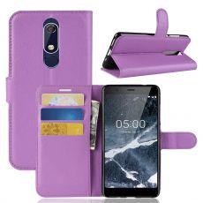 Luurinetti Flip Wallet Nokia 5.1 purple
