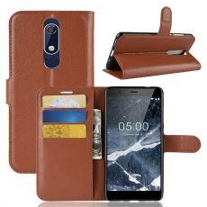 Luurinetti Flip Wallet Nokia 5.1 brown