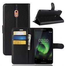 Luurinetti Flip Wallet Nokia 2.1 Black