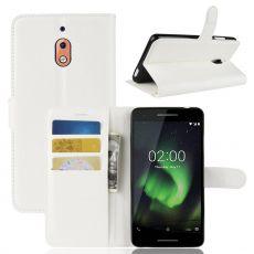 Luurinetti Flip Wallet Nokia 2.1 White