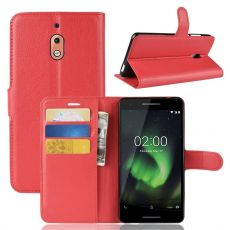 Luurinetti Flip Wallet Nokia 2.1 Red