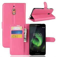 Luurinetti Flip Wallet Nokia 2.1 Rose