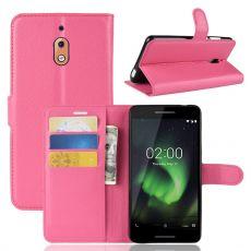 Luurinetti Flip Wallet Nokia 2.1 Rose