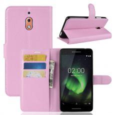 Luurinetti Flip Wallet Nokia 2.1 Pink