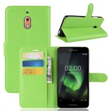 Luurinetti Flip Wallet Nokia 2.1 Green
