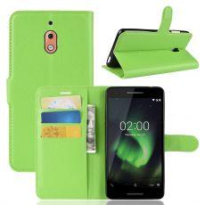 Luurinetti Flip Wallet Nokia 2.1 Green