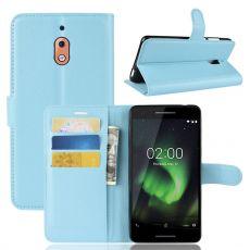 Luurinetti Flip Wallet Nokia 2.1 Blue