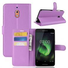 Luurinetti Flip Wallet Nokia 2.1 Purple