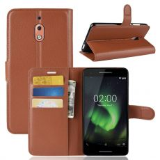 Luurinetti Flip Wallet Nokia 2.1 Brown