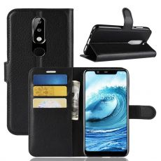 Luurinetti Flip Wallet Nokia 5.1 Plus black