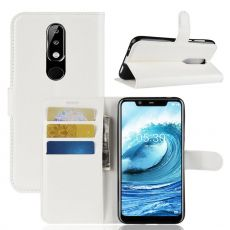 Luurinetti Flip Wallet Nokia 5.1 Plus white