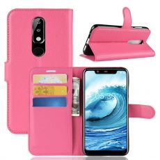 Luurinetti Flip Wallet Nokia 5.1 Plus rose