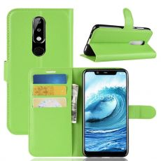 Luurinetti Flip Wallet Nokia 5.1 Plus green