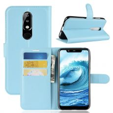 Luurinetti Flip Wallet Nokia 5.1 Plus blue