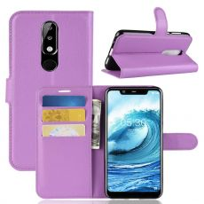 Luurinetti Flip Wallet Nokia 5.1 Plus purple