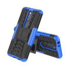 Luurinetti kuori tuella Nokia 5.1 Plus blue