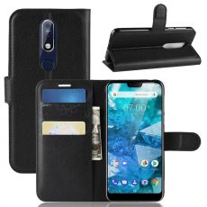Luurinetti Flip Wallet Nokia 7.1 black