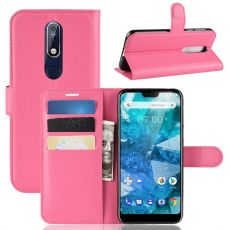 Luurinetti Flip Wallet Nokia 7.1 rose