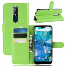 Luurinetti Flip Wallet Nokia 7.1 green