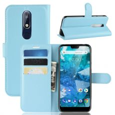 Luurinetti Flip Wallet Nokia 7.1 blue