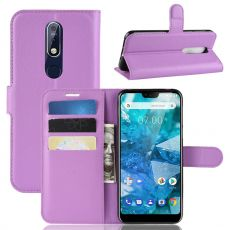 Luurinetti Flip Wallet Nokia 7.1 purple
