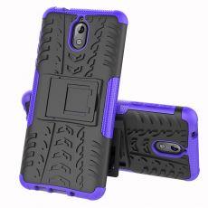 Luurinetti kuori tuella Nokia 3.1 purple