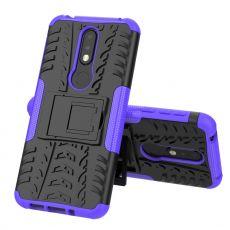 Luurinetti kuori tuella Nokia 7.1 purple