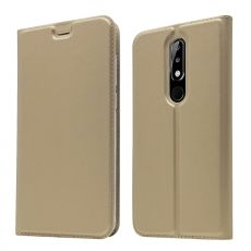 Luurinetti Business-kotelo Nokia 5.1 Plus gold