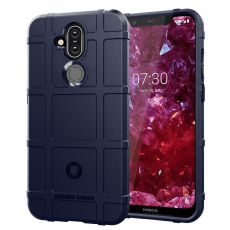 Luurinetti Rugger Shield Nokia 8.1 blue