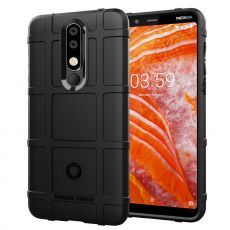 Luurinetti Rugger Shield Nokia 3.1 Plus black