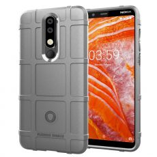 Luurinetti Rugger Shield Nokia 3.1 Plus grey