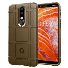 Luurinetti Rugger Shield Nokia 3.1 Plus brown