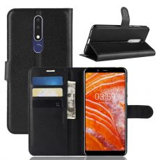 Luurinetti Flip Wallet Nokia 3.1 Plus black