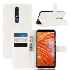 Luurinetti Flip Wallet Nokia 3.1 Plus white
